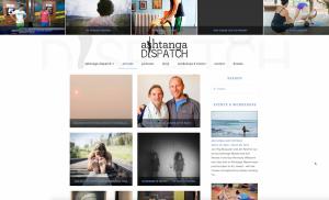 Yoga web design