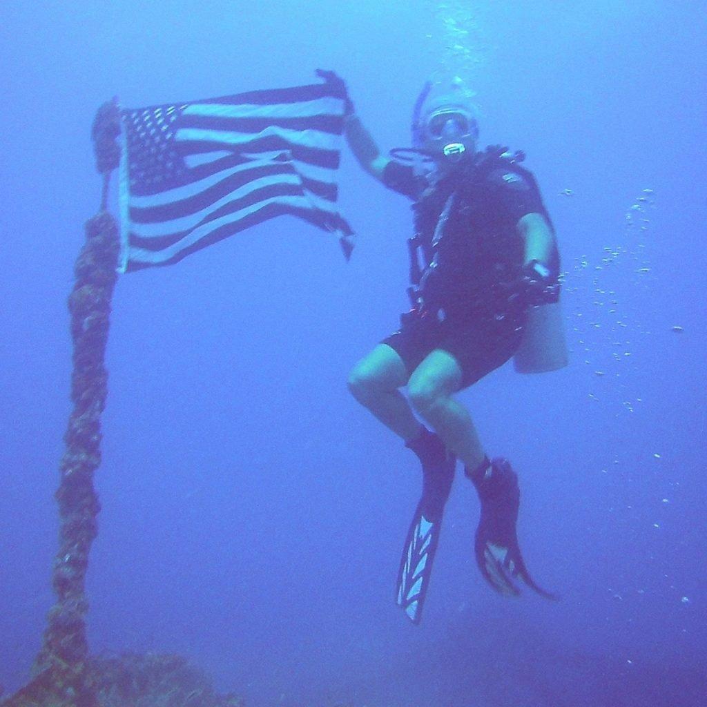 Michael Sammut 110ft Underwater of the Florida Keys